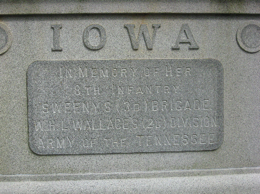 Iowa 8th Infantry Regiment Monument