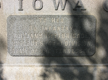 Iowa 3rd Infantry Regiment Monument