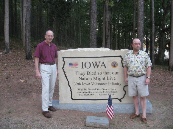 Iowa Monument at Allatoona Pass