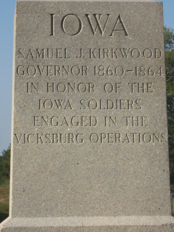 Governor Samuel J. Kirkwood Sculpture
