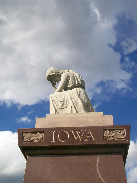 Iowa Monument at Andersonville