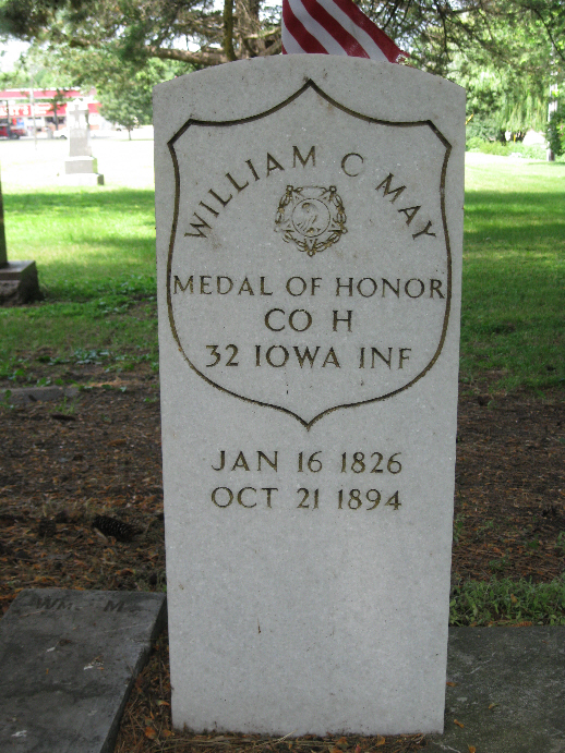 Medal of Honor Recipient William May