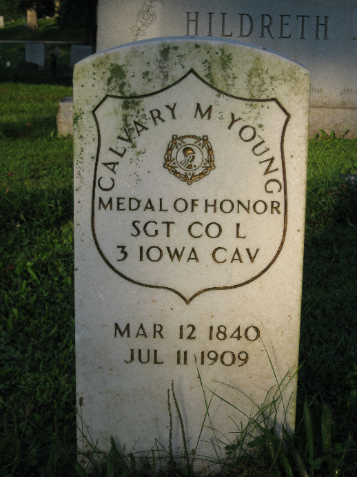 Medal of Honor Recipient Calvary M. Young