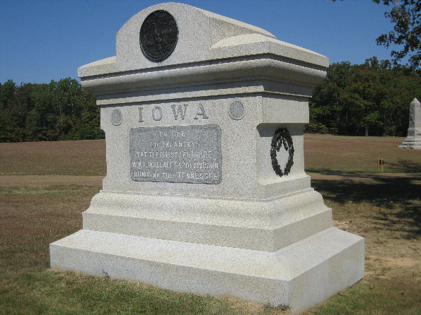 Iowa 2nd Infantry Regiment Monument