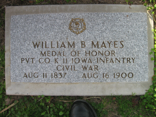 Medal of Honor Recipient William B. Mayes