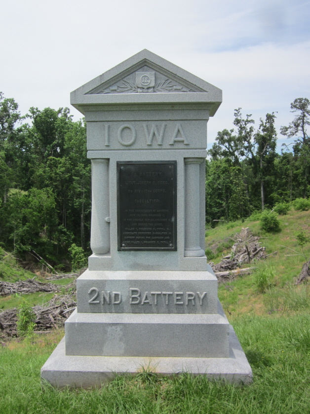 Monument for 2nd Iowa Battery