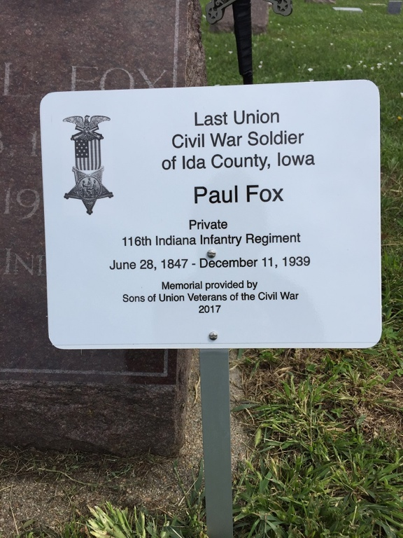 Last Soldier Paul Fox